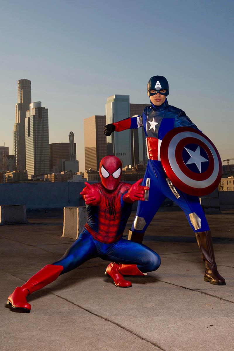Captain spiderman party character for kids in philadelphia