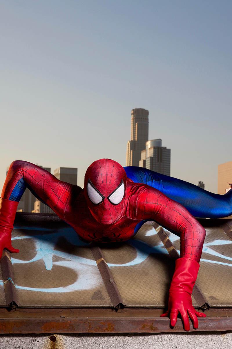 Superhero spiderman party character for kids in philadelphia