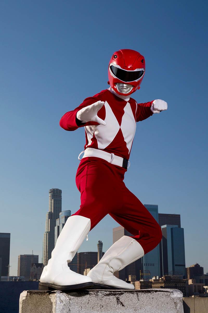 Superhero power ranger party character for kids in philadelphia